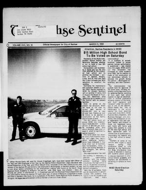 Primary view of object titled 'The Sachse Sentinel (Sachse, Tex.), Vol. 17, No. 10, Ed. 1 Tuesday, March 3, 1992'.