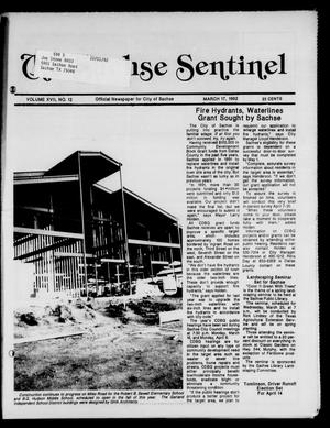 Primary view of object titled 'The Sachse Sentinel (Sachse, Tex.), Vol. 17, No. 12, Ed. 1 Tuesday, March 17, 1992'.