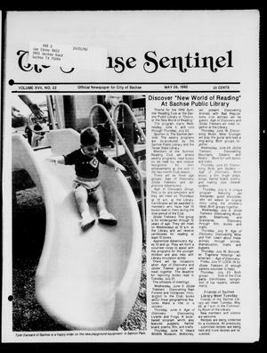 Primary view of object titled 'The Sachse Sentinel (Sachse, Tex.), Vol. 17, No. 22, Ed. 1 Tuesday, May 26, 1992'.