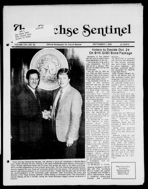 Primary view of object titled 'The Sachse Sentinel (Sachse, Tex.), Vol. 17, No. 36, Ed. 1 Tuesday, September 1, 1992'.