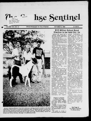 Primary view of object titled 'The Sachse Sentinel (Sachse, Tex.), Vol. 17, No. 41, Ed. 1 Tuesday, October 6, 1992'.