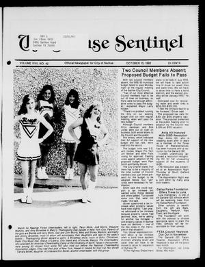 Primary view of object titled 'The Sachse Sentinel (Sachse, Tex.), Vol. 17, No. 42, Ed. 1 Tuesday, October 13, 1992'.