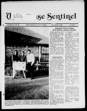 Primary view of object titled 'The Sachse Sentinel (Sachse, Tex.), Vol. 17, No. 45, Ed. 1 Tuesday, November 3, 1992'.