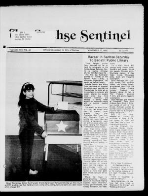 Primary view of object titled 'The Sachse Sentinel (Sachse, Tex.), Vol. 17, No. 46, Ed. 1 Tuesday, November 10, 1992'.
