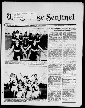 Primary view of object titled 'The Sachse Sentinel (Sachse, Tex.), Vol. 18, No. 1, Ed. 1 Tuesday, January 5, 1993'.