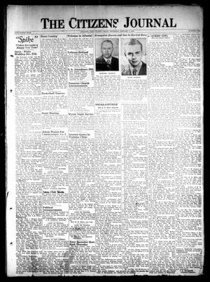 Primary view of object titled 'The Citizens Journal (Atlanta, Tex.), Vol. 69, No. 1, Ed. 1 Thursday, January 1, 1948'.