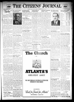 Primary view of object titled 'The Citizens Journal (Atlanta, Tex.), Vol. 68, No. 12, Ed. 1 Thursday, March 20, 1947'.