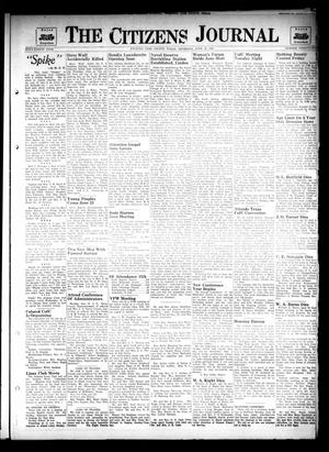 Primary view of object titled 'The Citizens Journal (Atlanta, Tex.), Vol. 68, No. 25, Ed. 1 Thursday, June 19, 1947'.