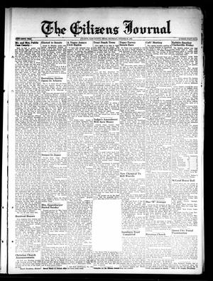 Primary view of object titled 'The Citizens Journal (Atlanta, Tex.), Vol. 69, No. 44, Ed. 1 Thursday, October 28, 1948'.