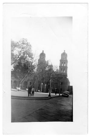 Primary view of object titled 'Cathedral in front of a square'.