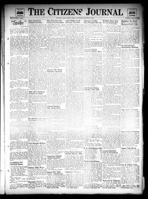 Primary view of object titled 'The Citizens Journal (Atlanta, Tex.), Vol. 68, No. 43, Ed. 1 Thursday, October 23, 1947'.
