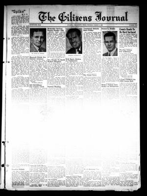 The Citizens Journal (Atlanta, Tex.), Vol. 70, No. 10, Ed. 1 Thursday, March 9, 1950
