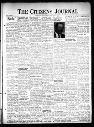 Primary view of object titled 'The Citizens Journal (Atlanta, Tex.), Vol. 69, No. 4, Ed. 1 Thursday, January 22, 1948'.