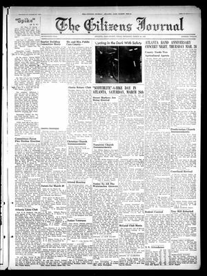 The Citizens Journal (Atlanta, Tex.), Vol. 70, No. 12, Ed. 1 Thursday, March 24, 1949