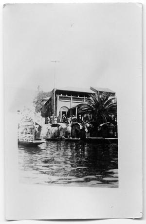 Primary view of object titled 'Boats on a river'.