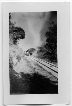 Primary view of object titled 'Rail car on railroad'.