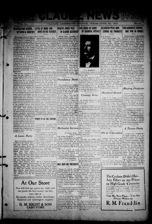 The Claude News (Claude, Tex.), Vol. 14, No. 41, Ed. 1 Friday, June 30, 1916