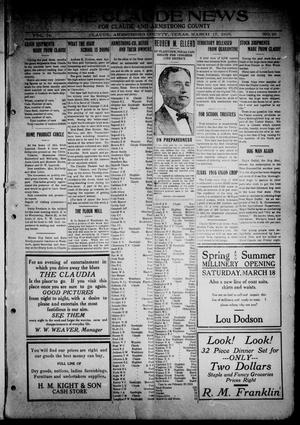 The Claude News (Claude, Tex.), Vol. 14, No. 26, Ed. 1 Friday, March 17, 1916