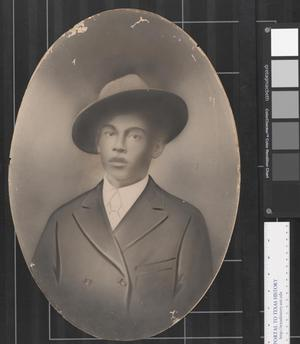 Primary view of object titled '[Portrait of an African American Boy]'.