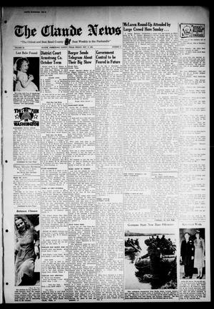 Primary view of object titled 'Claude News (Claude, Tex.), Vol. 53, No. 8, Ed. 1 Friday, October 17, 1941'.