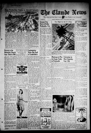 Primary view of object titled 'Claude News (Claude, Tex.), Vol. 53, No. 3, Ed. 1 Friday, September 12, 1941'.