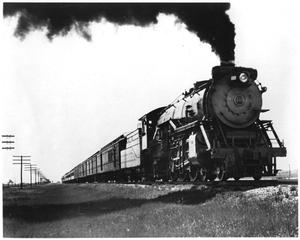 "Primary view of object titled '[""Colorado Special"" rolls through the Texas panhandle]'."