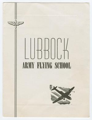 Primary view of object titled '[Lubbock Army Flying School Graduation Announcement, 1942]'.
