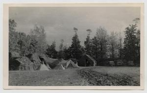 Primary view of object titled '[14th Tank Battalion Tents]'.