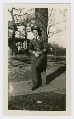 Primary view of object titled '[Photograph of Chester Morris]'.