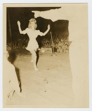 Primary view of object titled '[Photograph of a Show at Guadalcanal]'.