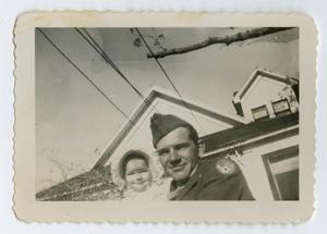 Primary view of object titled '[Photograph of Jack and Jacquline Alexander]'.