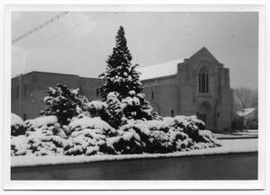 [First Christian Church After a Snowstorm]