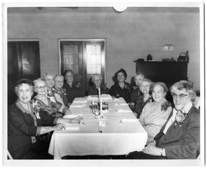 Primary view of object titled '[Granny Pearce's 90th Birthday Party]'.