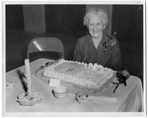 Primary view of object titled '[Mrs. O.P. 'Granny' Pearce's 90th Birthday Party]'.