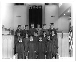 Primary view of object titled '[First Christian Church High School Seniors]'.