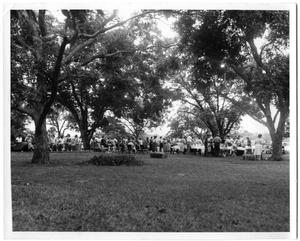 Primary view of object titled '[First Christian Church Chuck Wagon Supper]'.