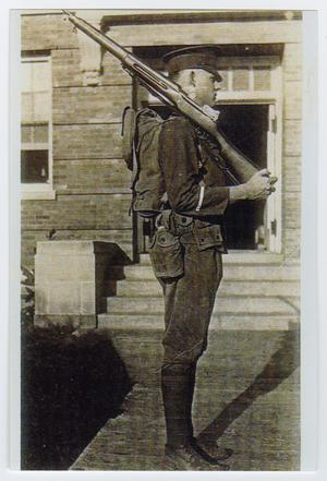 Primary view of object titled '[Photograph of Frank Smith, Jr.]'.