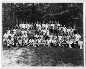 Primary view of object titled '[Camp Wildurr Summer Camp]'.