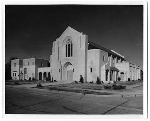 Primary view of object titled '[First Christian Church 1956]'.