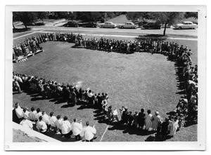 Primary view of object titled '[First Christian Church Groundbreaking Ceremony 1955]'.