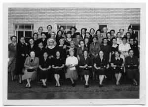 Primary view of object titled '[First Christian Church Loyal Women's Class]'.