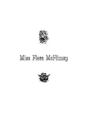 Primary view of object titled 'Miss Flora McFlimsy'.