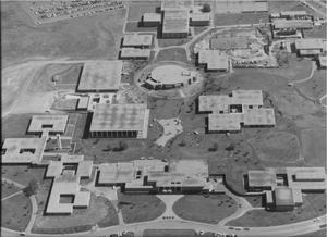 Aerial View of Tarrant County Junior College South Campus