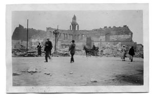 Primary view of object titled '[Paris, Texas after the 1916 fire]'.