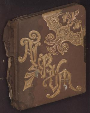 Primary view of object titled 'Scrivner Family photo album'.