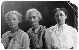 Primary view of object titled 'Portrait of Jennie Booth, Julia Fazan and Katherine Crocket Scrivner'.