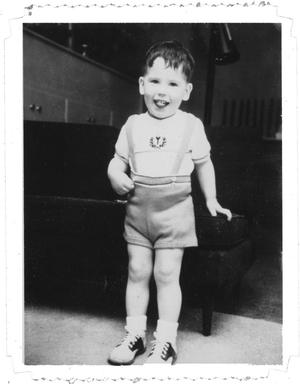Primary view of object titled 'Ray Delphenis as a child'.