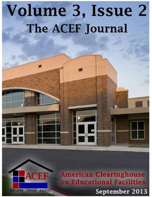 Primary view of object titled 'The ACEF Journal, Volume 3, Issue 2, September 2013'.
