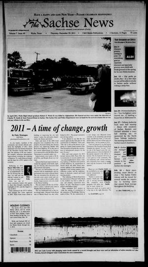 Primary view of object titled 'The Sachse News (Sachse, Tex.), Vol. 7, No. 49, Ed. 1 Thursday, December 29, 2011'.