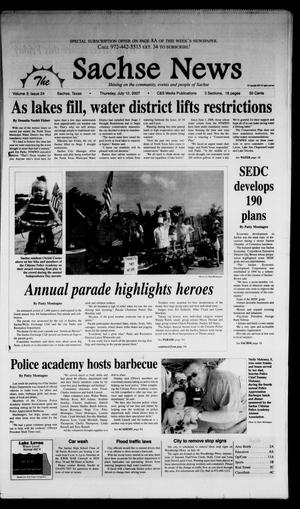 Primary view of object titled 'The Sachse News (Sachse, Tex.), Vol. 3, No. 24, Ed. 1 Thursday, July 12, 2007'.